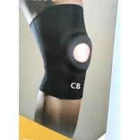 Неопреновый фиксатор коленного сустава с задними усиливающими швами. Размер S (обхват коленной чашки - 28 см)