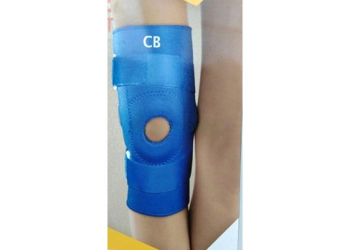 Ортез коленного сустава неразъемный с полицентрическими шарнирами. Размер универсальный (обхват коленной чашки - 36 см)