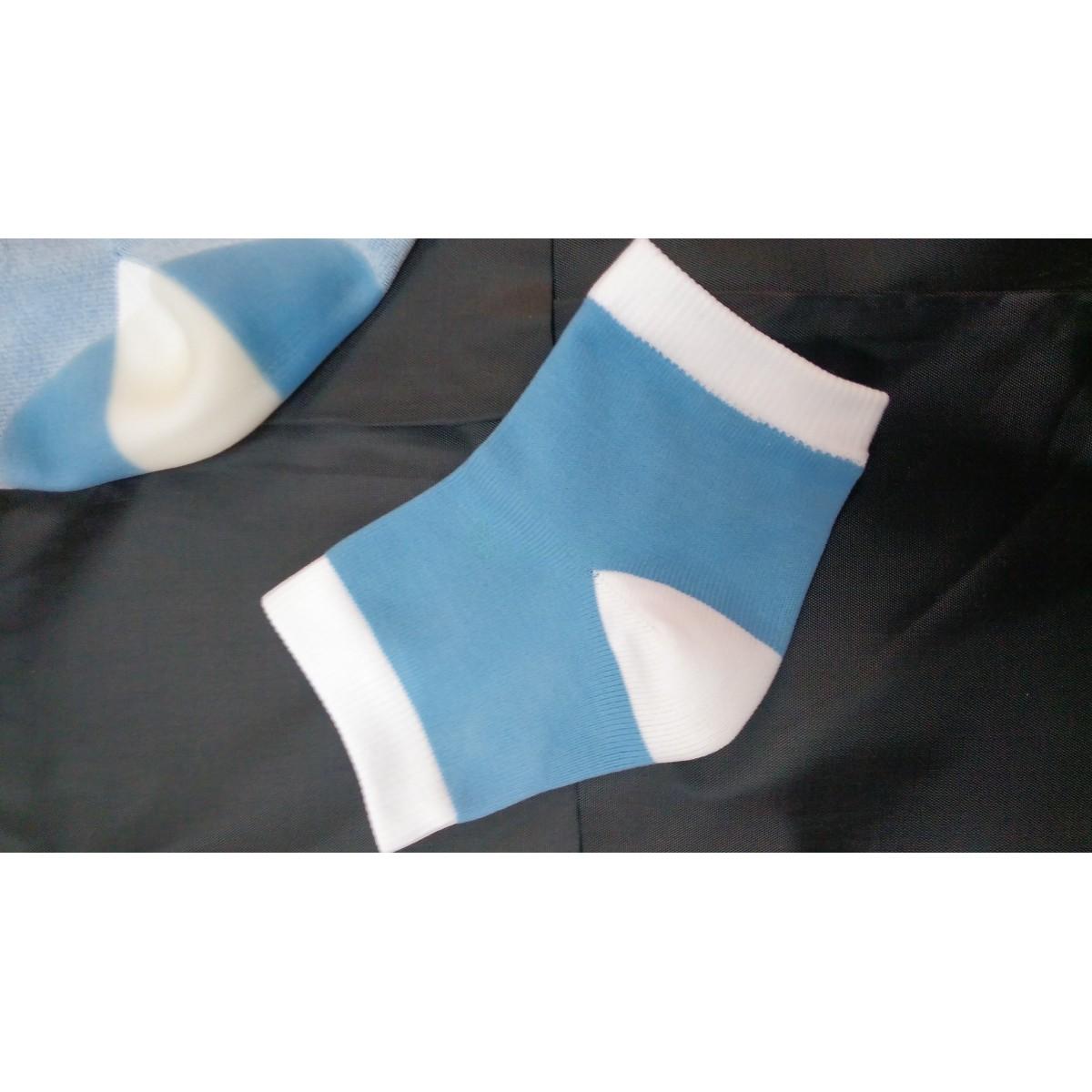 Полуноски увлажняющие с силиконовой пяткой внутри (цена за пару)